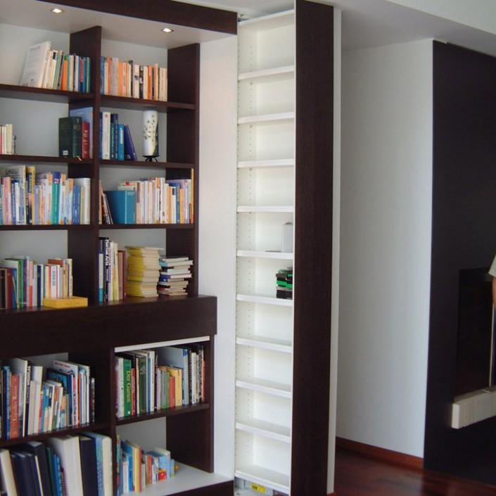 Bücher und Medien Einbaulösung 3