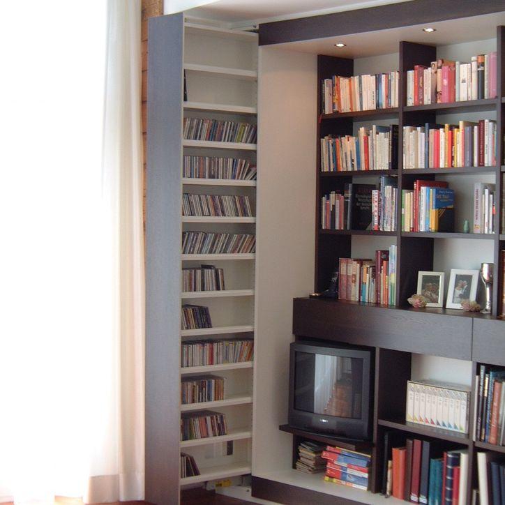 Bücher und Medien Einbaulösung 2
